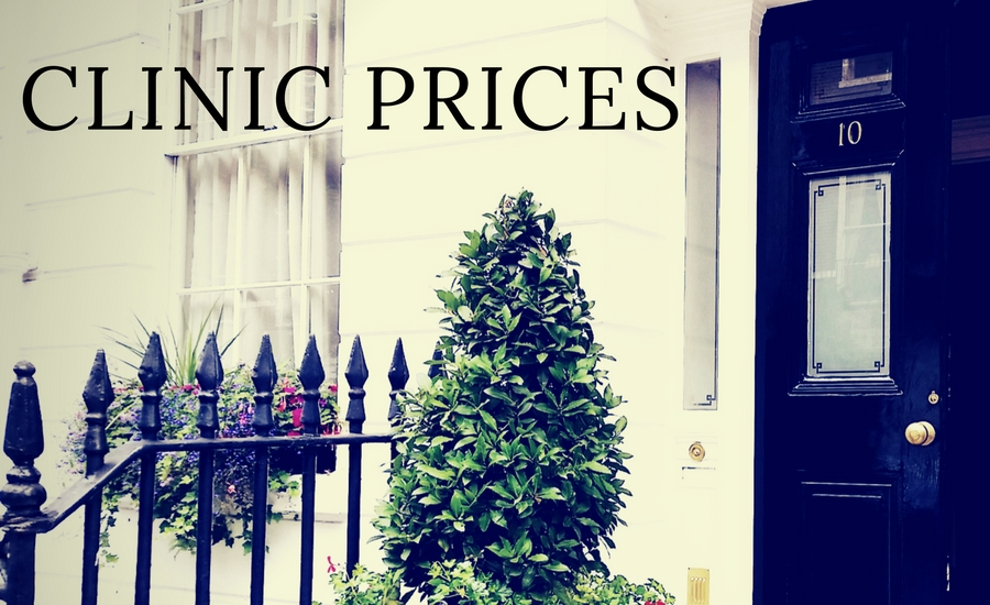 Prices for Harley Street Nutritionist, Harley Street Nutrition Clinic, Nutritional Therapy. Meditation and Mindfulness