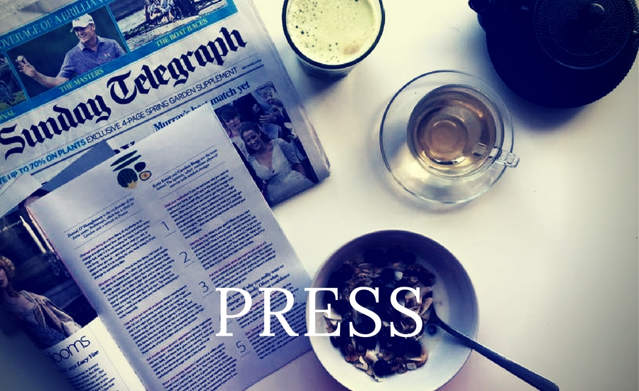 A selection of press for the Bodhimaya Detox, Wellbeing, Yoga and Meditation Retreats
