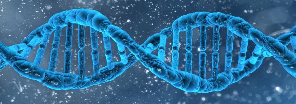 BodhiGen advanced genetic testing DNA strand.