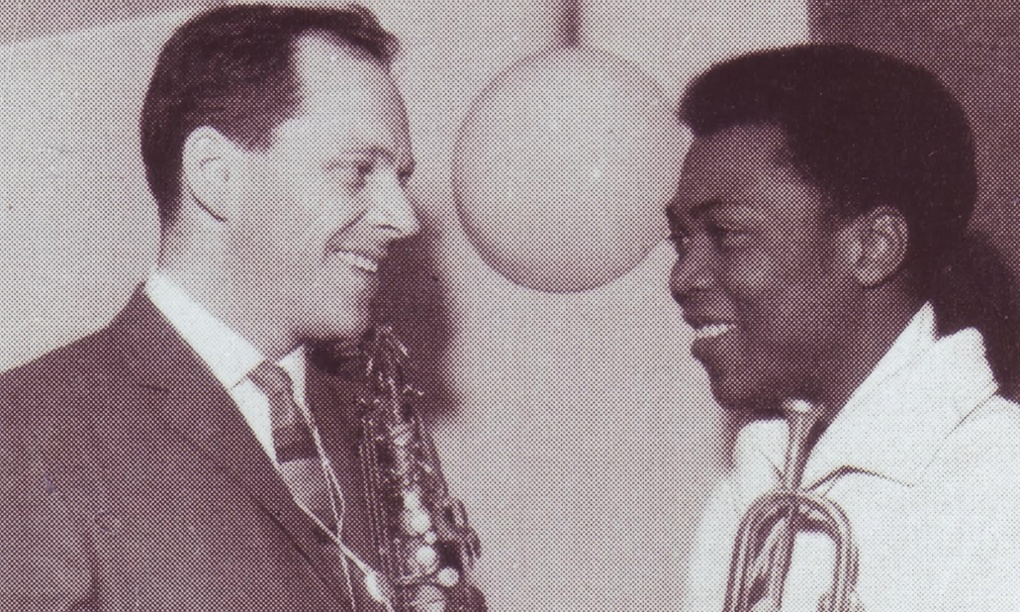 Fela Kuti with Johnny Dankworth in 1962.