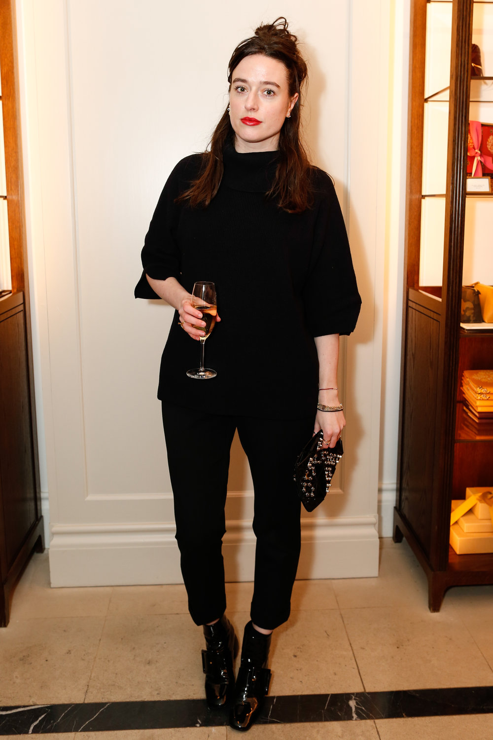 Lou Stoppard at the Burberry So It Goes event at Thomas's, London, 9th February 2016