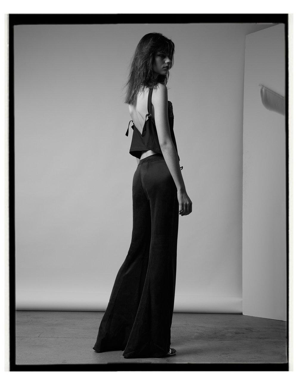Top: Atelier Pichita; Trousers Max Mara