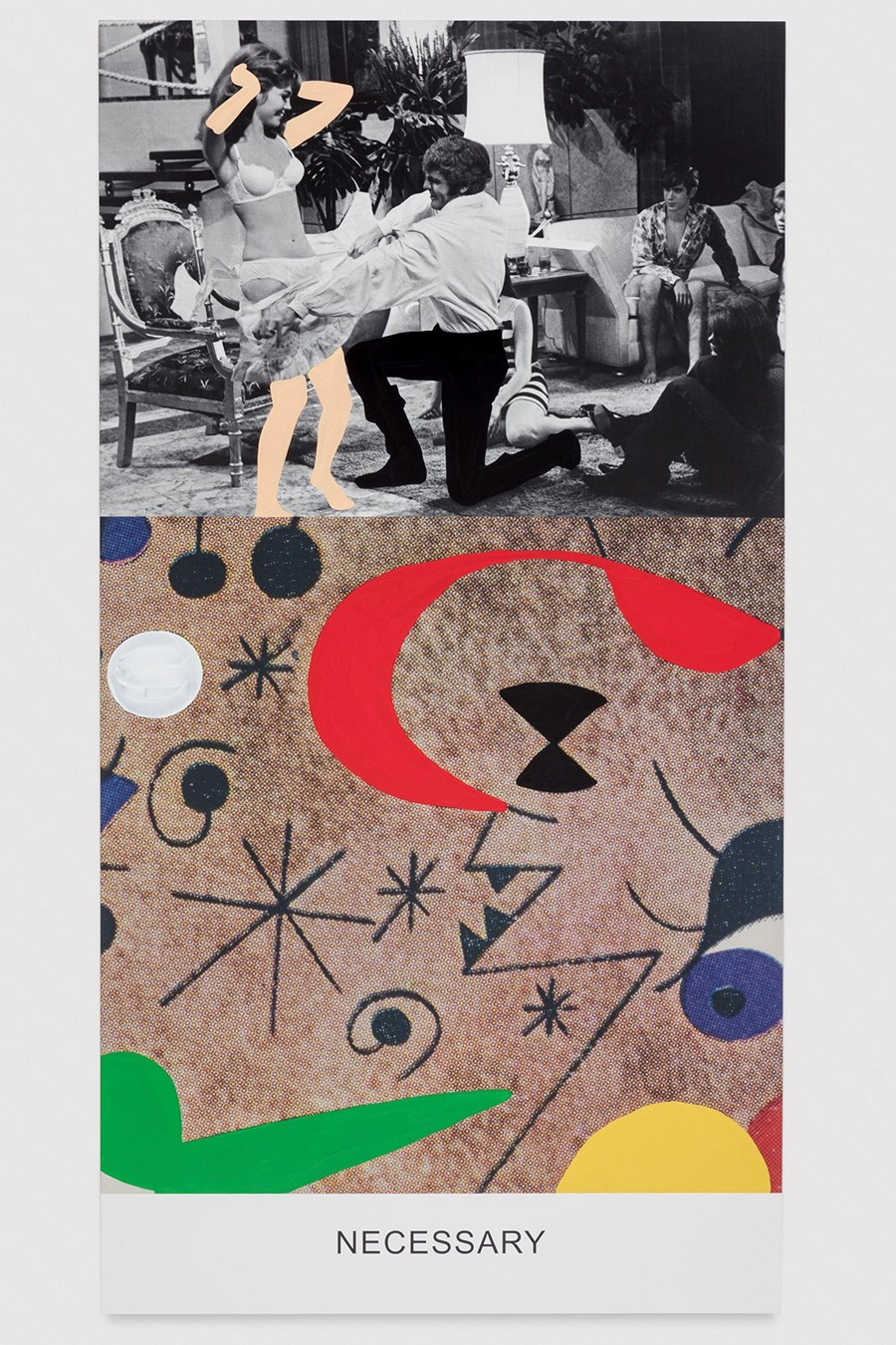 'Necessary', Copyright John Baldessari, courtesy the artist and Marian Goodman Gallery