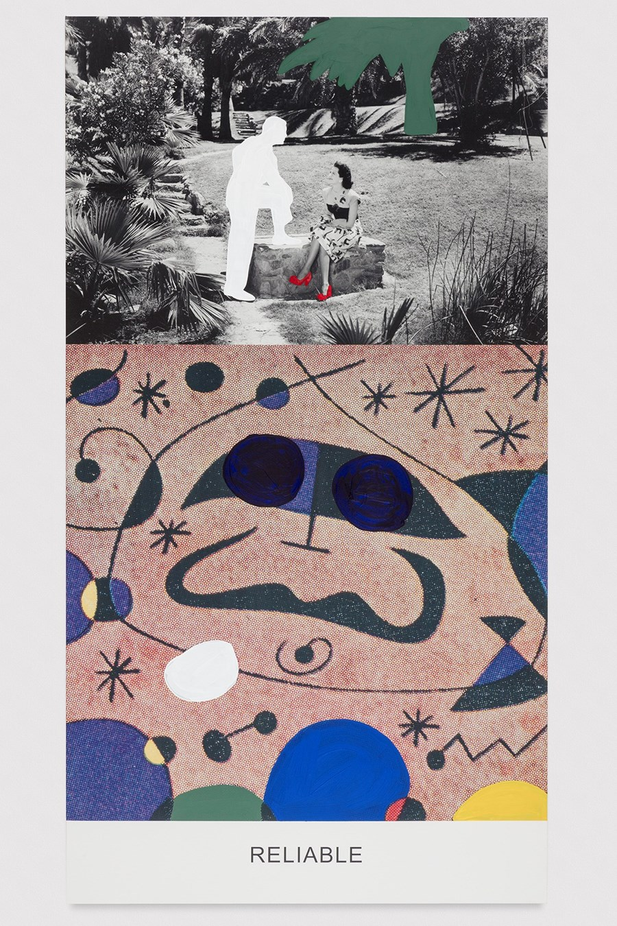 'Reliable', 'Necessary', Copyright John Baldessari, courtesy the artist and Marian Goodman Gallery