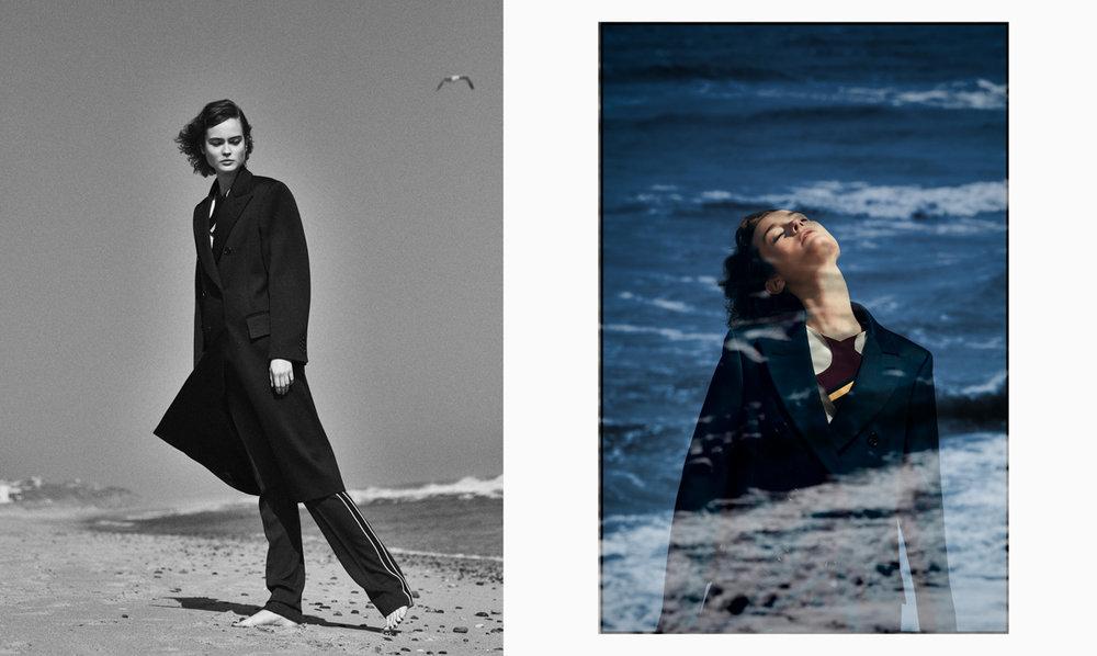 All clothing: Calvin Klein Collection