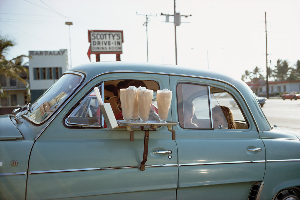 Florida,  1967. Courtesy and Copyright of Joel Meyerowitz