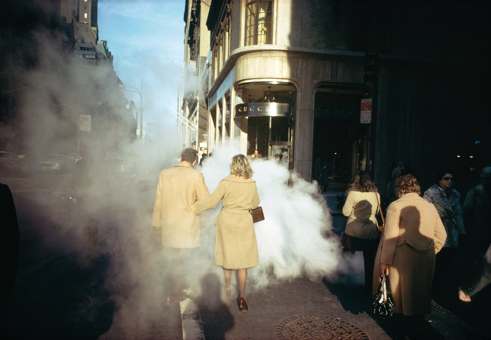 NewYork City,  1975. Courtesy and Copyright of Joel Meyerowitz