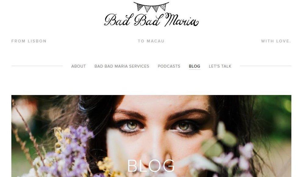 bad bad maria blog