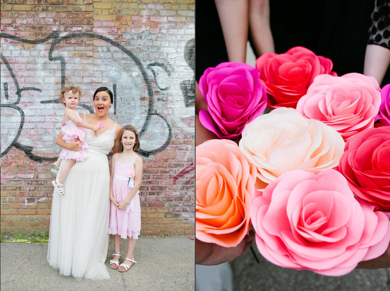 Amy + Matt // Brooklyn Wedding Photographer // Greenpoint Loft ...