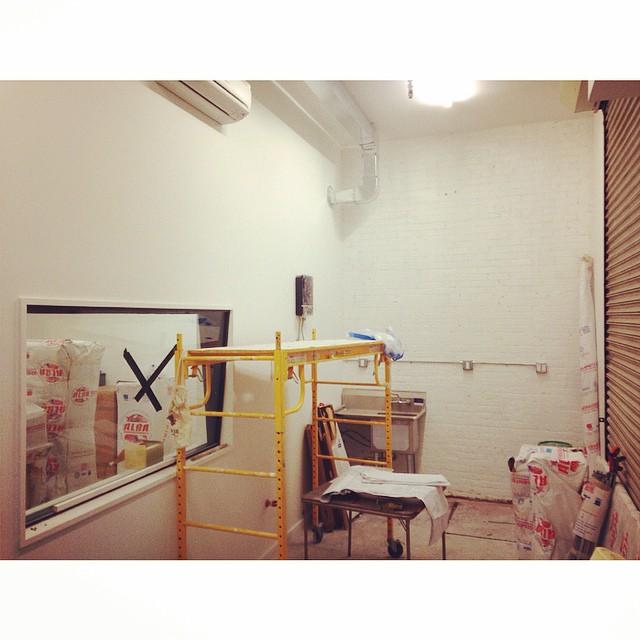 Lobby under progress. #studioconstruction