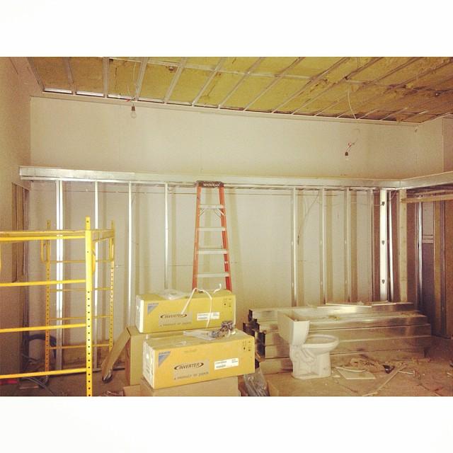 More filling #studioconstruction