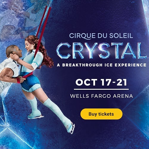 Thank you to the @cirquedusoleil team for gifting our staff with seats to their show in Des Moines! See the info below to get your tickets! • For the first time Cirque du Soleil® pushes the boundaries of performance, redefining the artistic possibilities of ice. Watch as world-class ice skaters and acrobats claim their frozen playground with speed and grace, challenging the laws of gravity with daring acrobatics. Cirque du Soleil Crystal® coming to Des Moines at the Wells Fargo Arena from October 17th through 21st! Tickets on sale now at cirquedusoleil.com/crystal