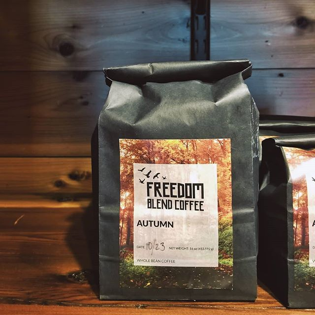 Our Autumn blend is now available! This peaberry roast originates from Tanzania and has tastes of cranberry, lemon, and nuts. Get a bag today!