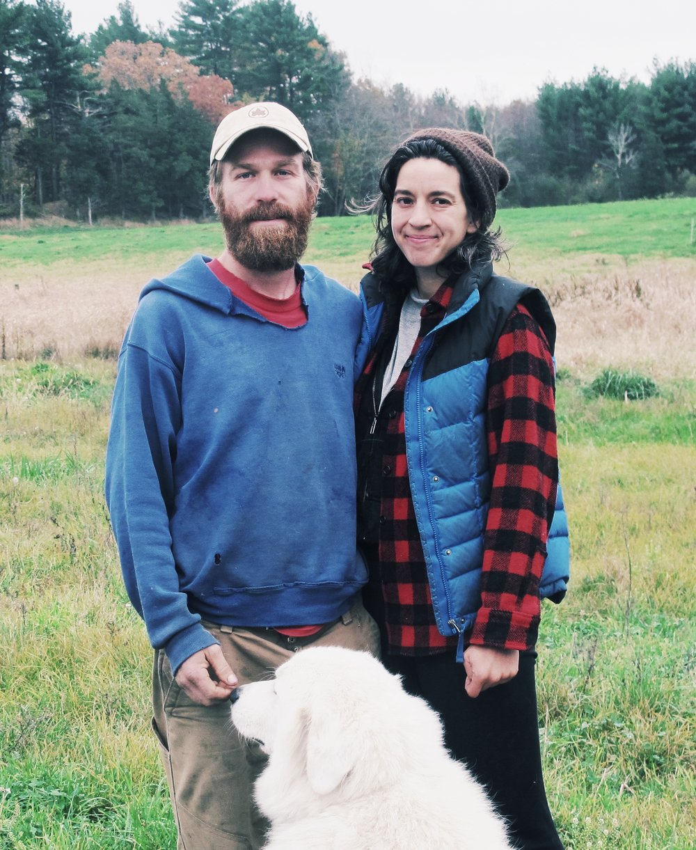 - The farm is run jointly by Chuck Currie and Marie Kaziunas and has been built with the help of many incredible farmers over the years. Chuck and Marie met at a winter farmers' market seven years ago and a year later Chuck started Freedom Food Farm. After years of growing the farm, both Marie and Chuck farm year-round at Freedom Food and have been dedicated to ethically growing a full-diet, four season farm to feed local communities.The name Freedom Food symbolizes our efforts to produce clean, whole food free of toxins, chemicals, GMOs, unethically produced amendments and other inputs that have harmful environmental & social costs. It is also about the importance of land access in this country for first generation farmers and supporting food produced with good farm labor conditions locally. We deeply believe that regenerative agriculture, growing food and well stewarded farmland in this country is essential and it's time we all make decisions that consider what resources we are leaving for future generations.By supporting farmers like us you have the ability to help change what type of agriculture is possible, teach a new generation of farmers and in partnership we can create a thriving farm that nurtures the land and produces good food for many years to come.
