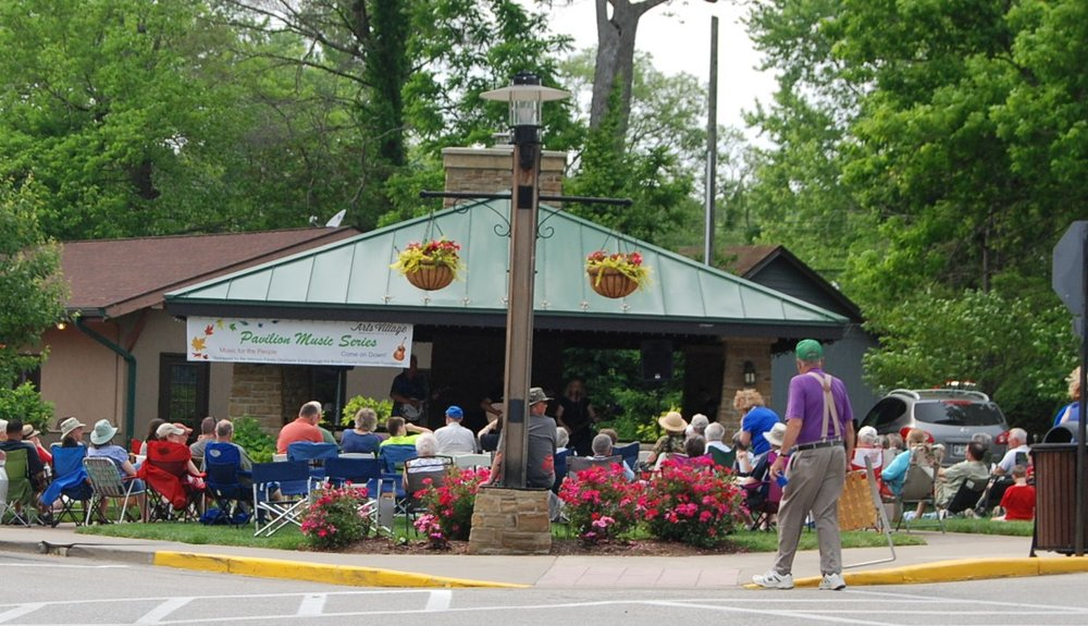 2016 pavilion music series at the village green