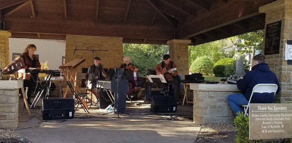 2018 Pavilion music series - the band celtica performing
