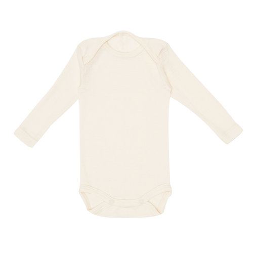 0e8945f11 MINI LILA - Organic Merino Wool / Silk Onesie