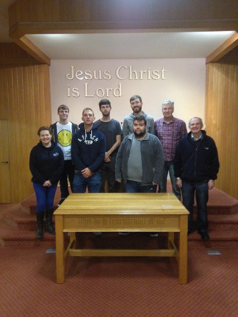 The Baptist Team