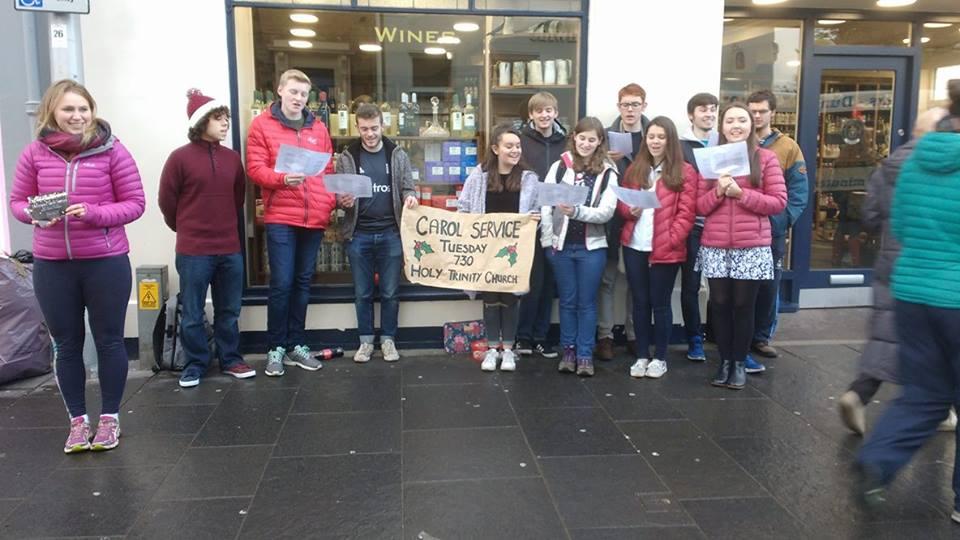 Carolling in Fife