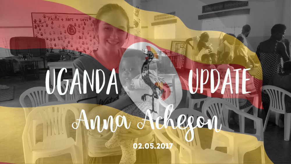 Anna Acheson May Update 2017
