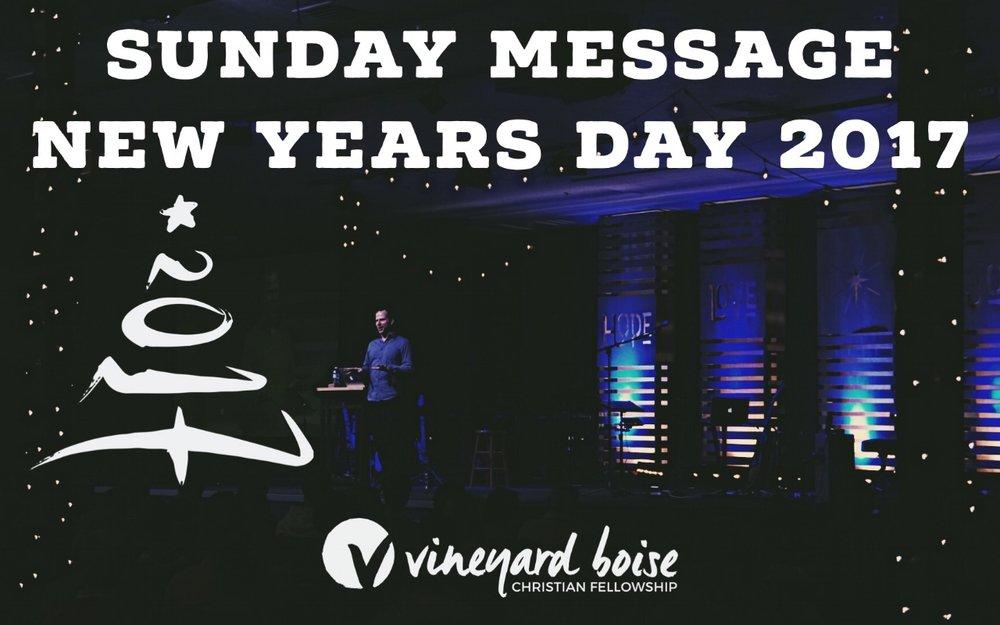 Past Messages — Vineyard Boise Christian Fellowship
