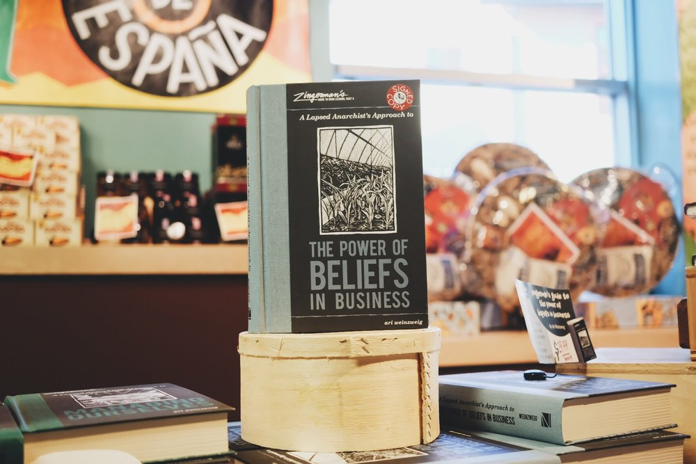 """Ari's book, The Power of Beliefs  in Business , out now. Everything we talked about was either referenced or further explained in this or others of the books he wrote and I highly recommend picking up a copy, maybe if not just to read to improve your business, but if you just want some good """"Ari-isms"""" in your day to day life. https://www.zingtrain.com/web0816"""