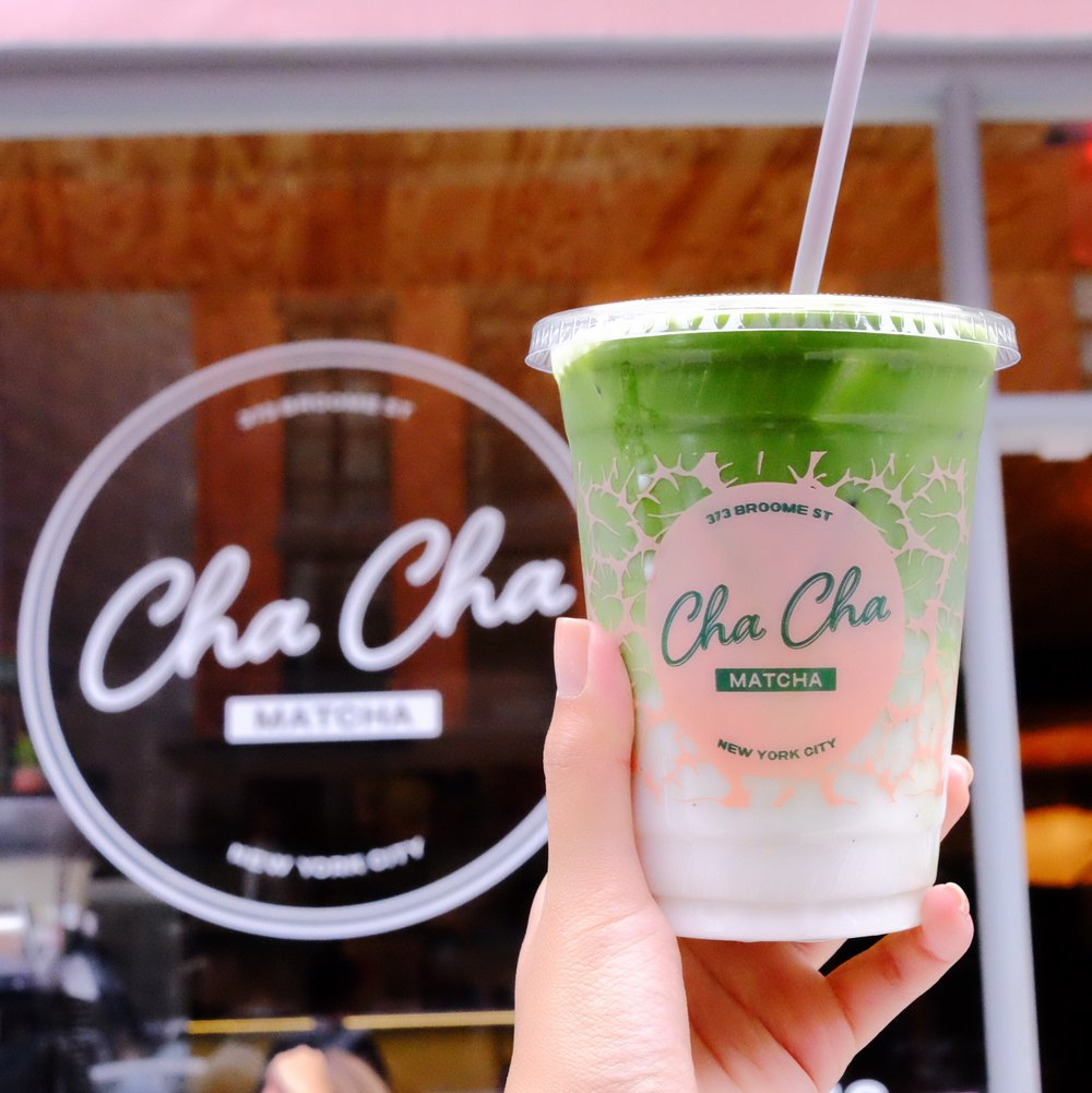 Stumbled upon every blogger's favorite matcha shop in soho. If it wasn't for the pink aesthetics, the other major draw to this quaint spot in Soho was the matcha coconut milk drink. Come on, look at it, no wonder every fashion instagrammer stopped by this place during fashion week.  https://chachamatcha.com/