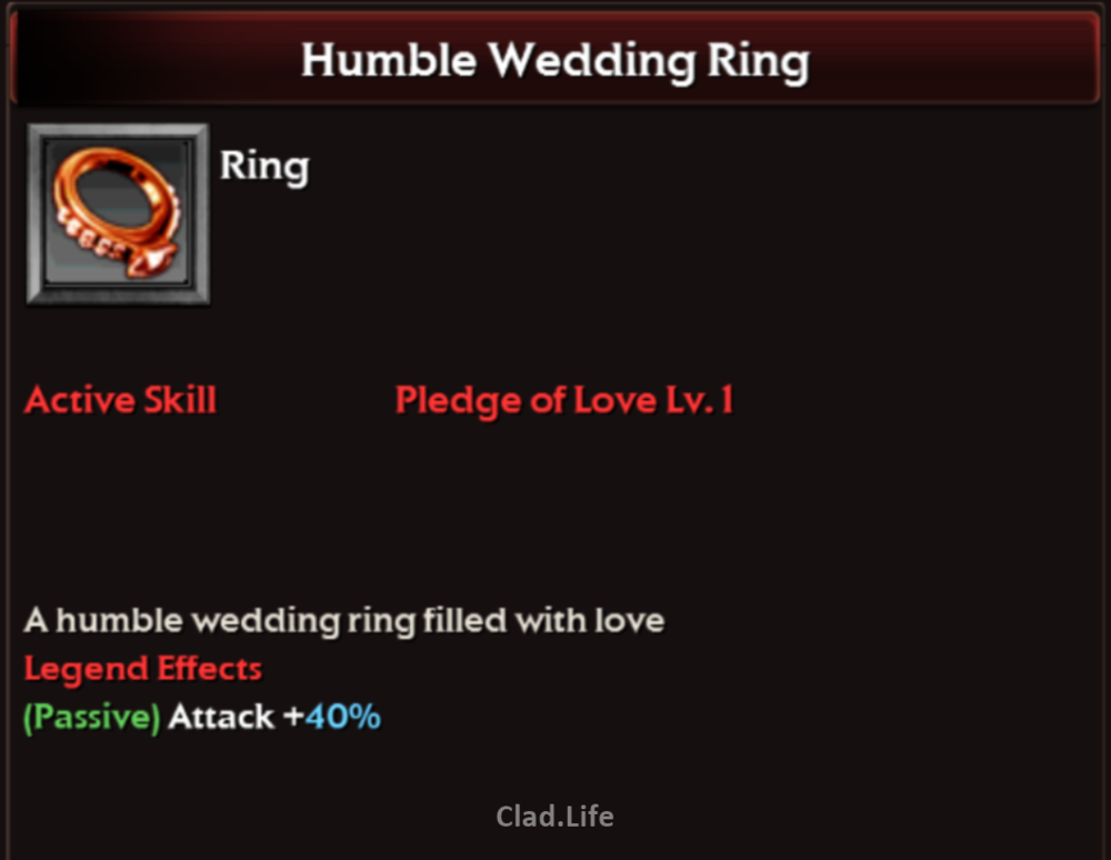 Humble Wedding Ring