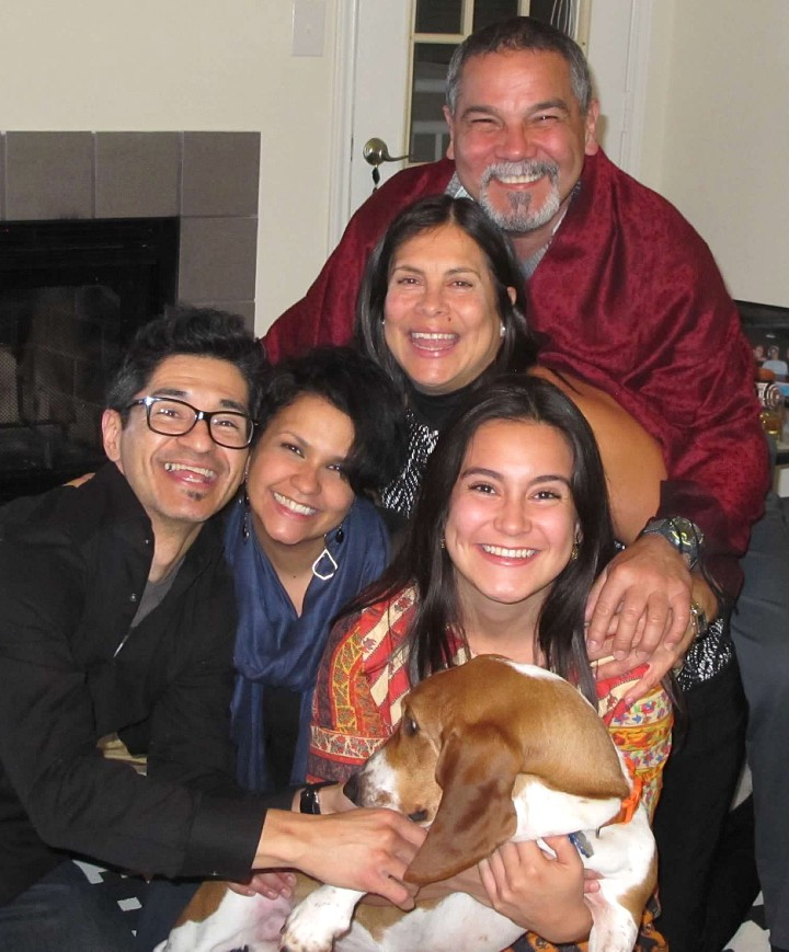 Coco and her loving, loved family.