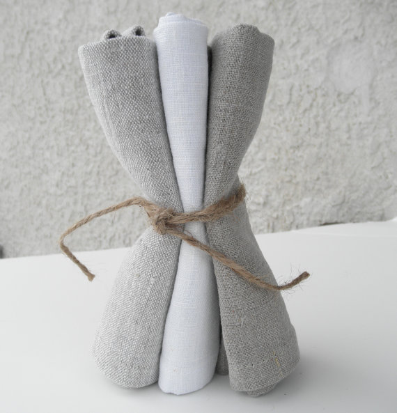 Exfoliating Linen Washcloths