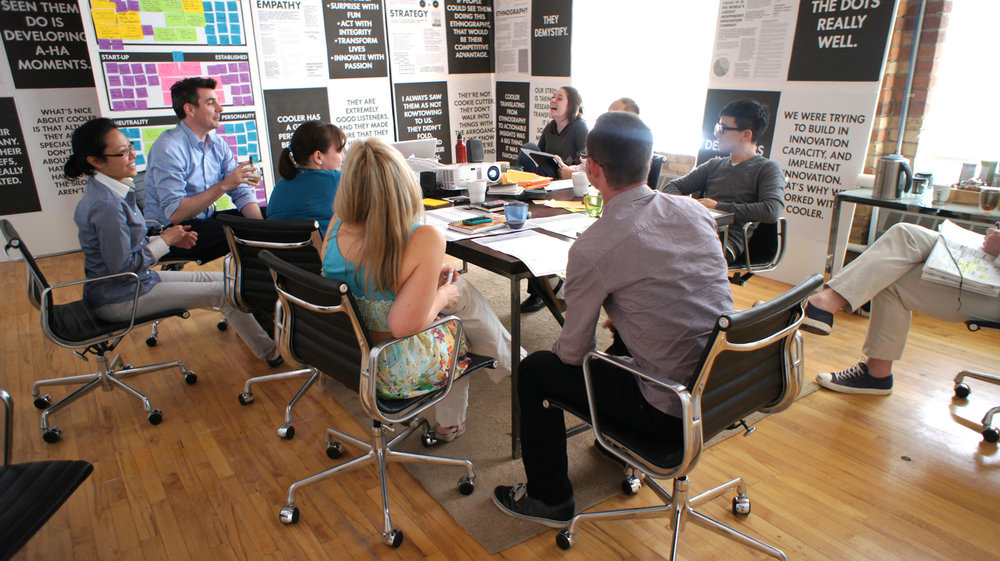 A workshop with Bridgeable, designed and hosted by Amanda Happé, Working Session's founder.