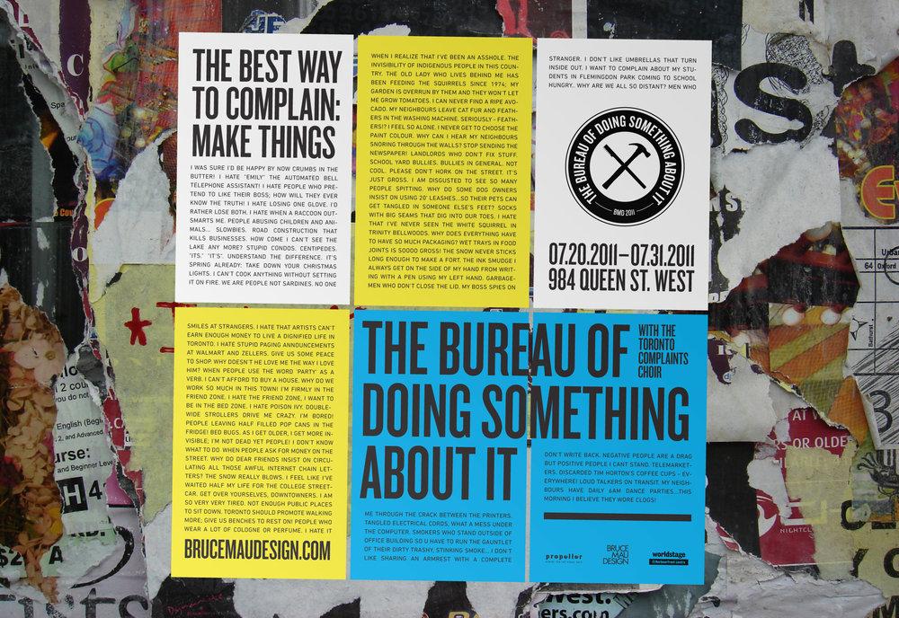 BDSA street posters