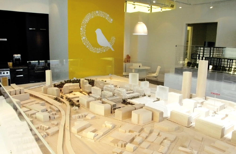 scale model Canary District