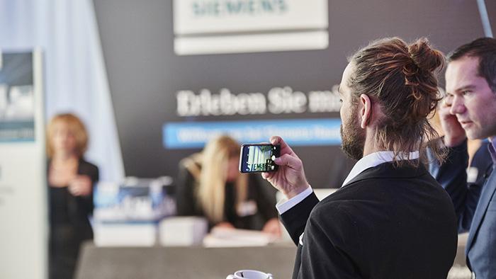 Impression der Innovationstour 2016 von den Haushaltsgeräten Siemens
