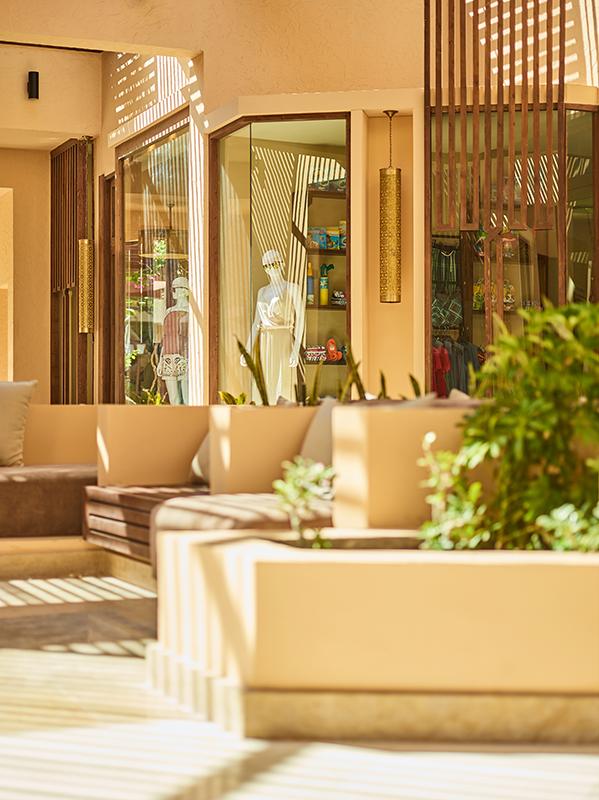 Einkaufspassage des Robinson Club Soma Bay in Ägypten