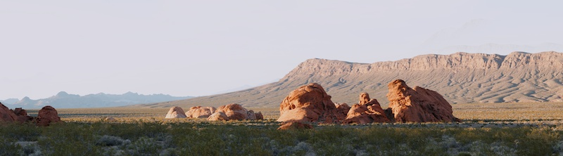 Valley Of Fire pano