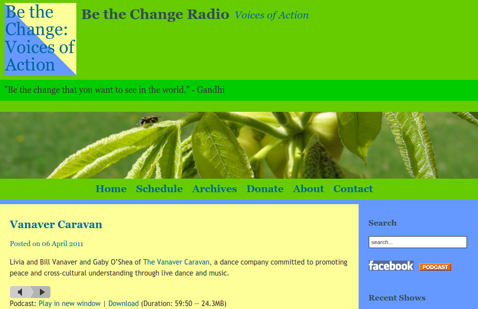 Be The Change Radio