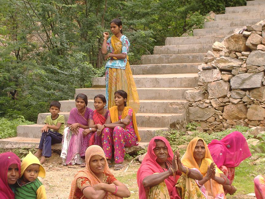 villagers gathered for independence day celebration at Upli Badi school.jpg