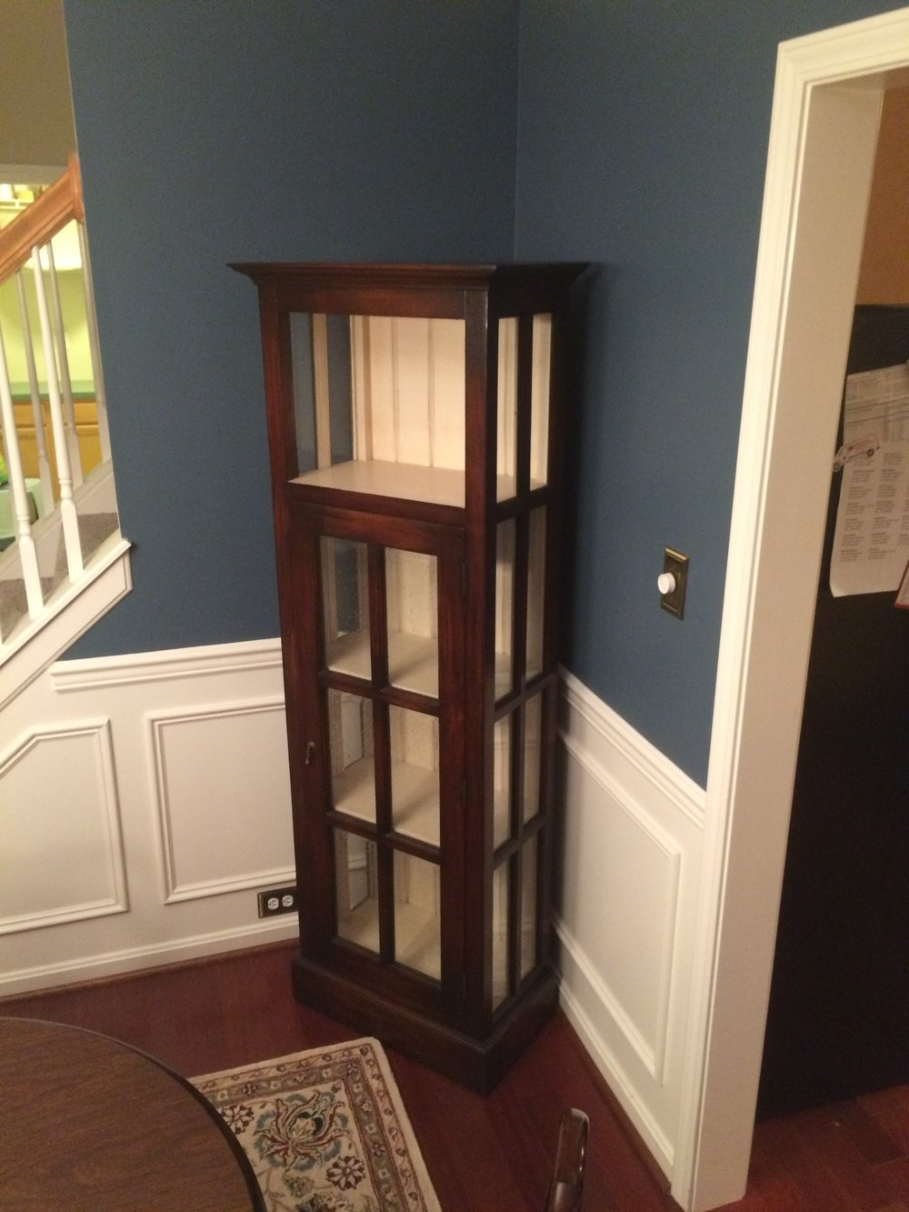 21816 Cape Cod Bookcase w/ Door