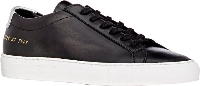 Common Projects | Leather Achilles Low-Top Sneakers