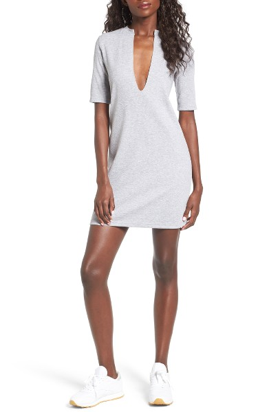 The Fifth Label | Fly With Me Plunging Knit Dress