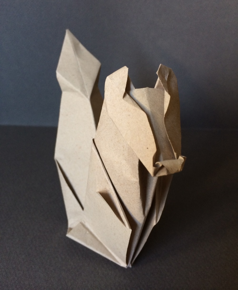 Origami Squirrel!