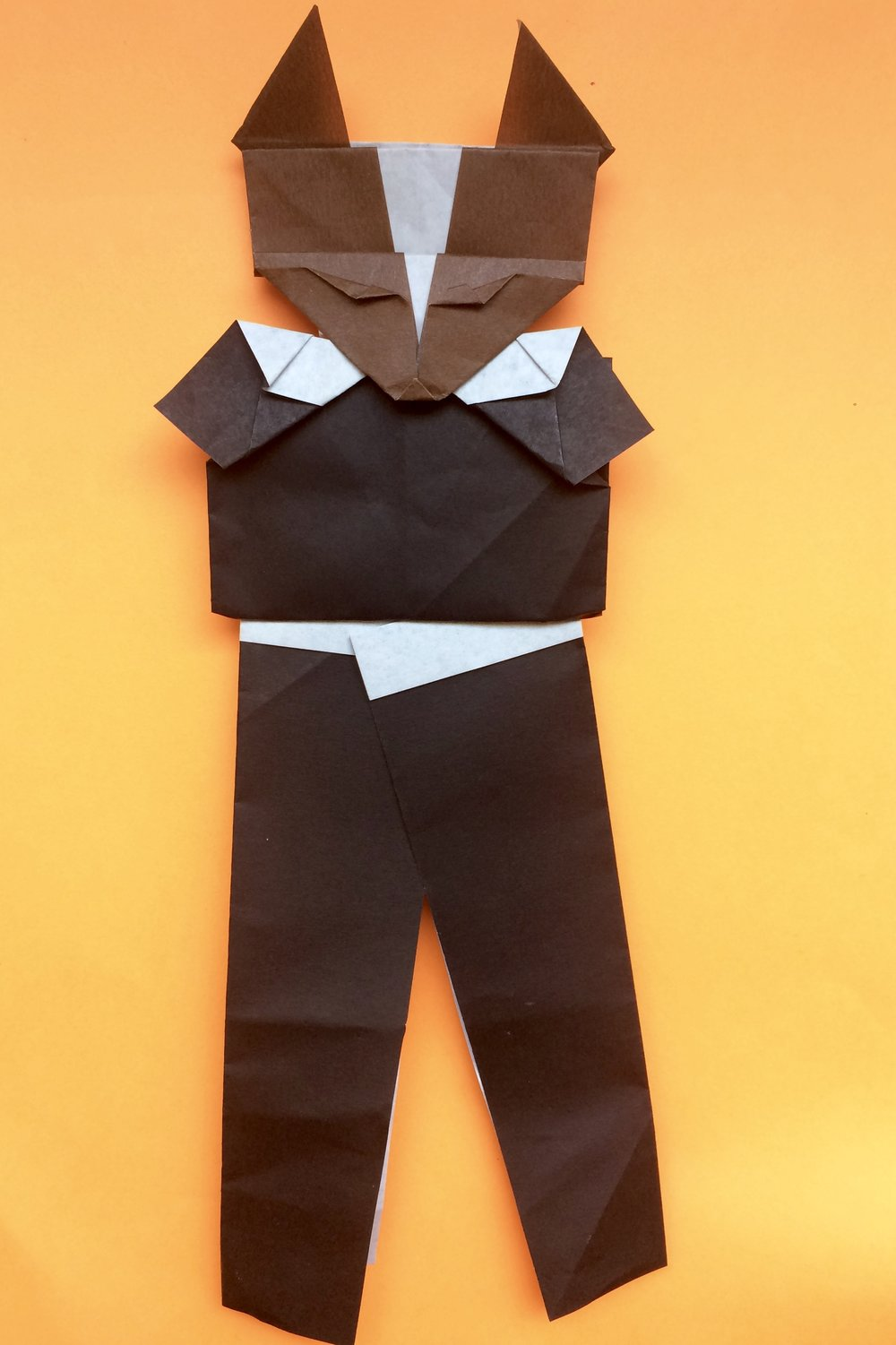 Origami Fox in his dancing suit!