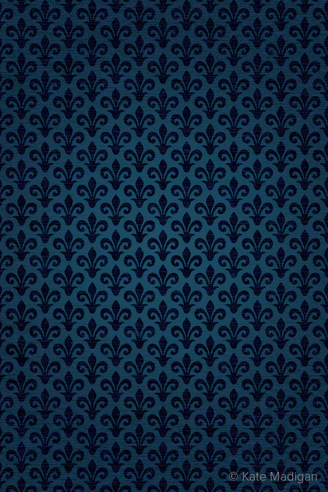 Fleur-de-lys iPhone wallpaper pattern