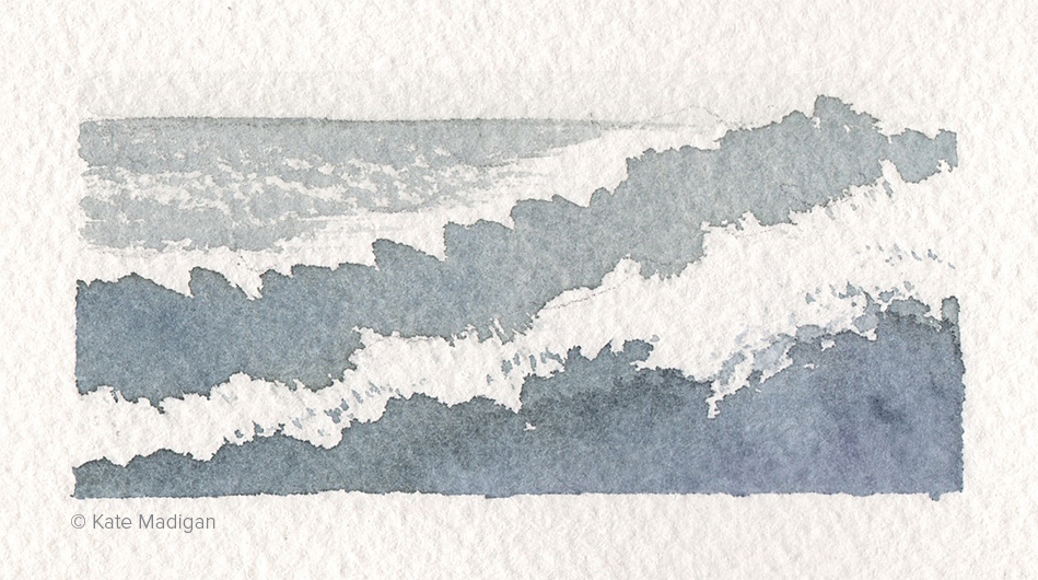 Teaching demo: painting waves.
