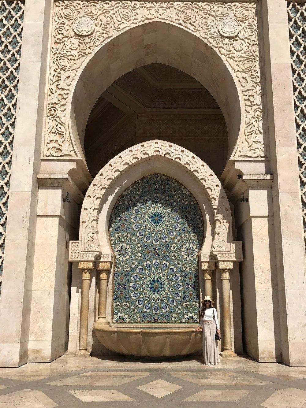 Hassan II Mosque - Casablanca Morocco, October 2016