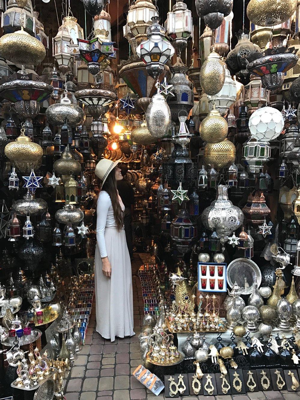 Souk - Marrakech Morocco, October 2016