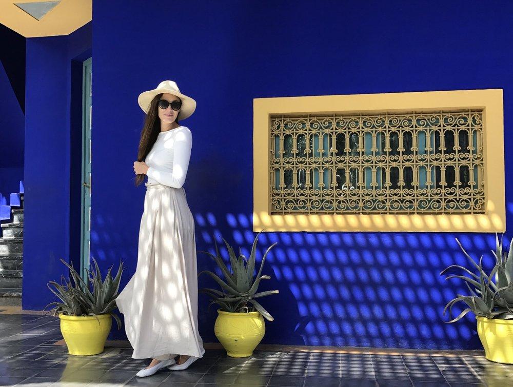 Jardín Majorelle, Marrakech Morocco