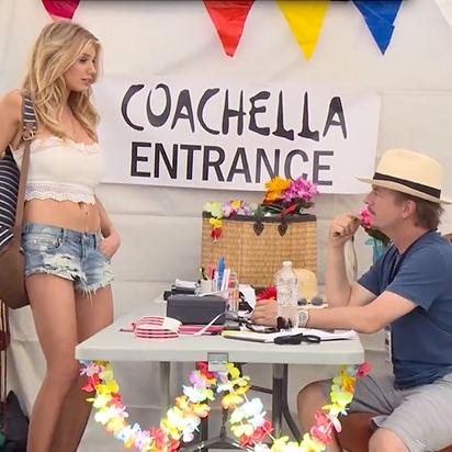David Spade Hates Coachella - Funny Or Die