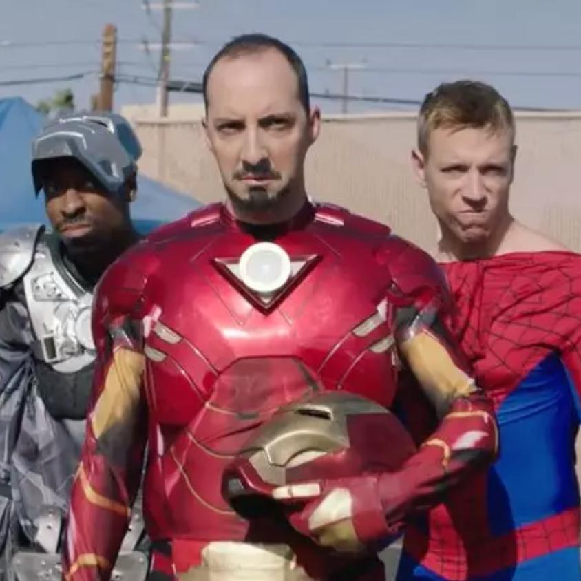Captain America Civil War Reenactors - Funny Or Die - Short Film